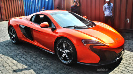 Siêu phẩm McLaren 650S Spider thứ 3 về Việt Nam