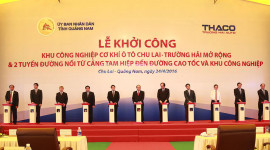 """Trường Hải mở rộng """"đại bản doanh"""" tại Chu Lai"""