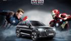 "Dàn xe Audi trong phim bom tấn ""Captain America: Civil War"""