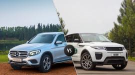 Chọn Range Rover Evoque 2016 hay Mercedes-Benz GLC 300 AMG?
