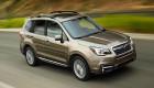 Subaru nâng cấp Forester 2017 với không gian yên tĩnh hơn