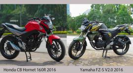 80 triệu, chọn Honda CB Hornet 160R hay Yamaha FZ-S V2.0 2016