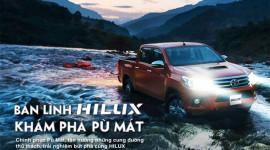 """Toyota Hilux thử """"bản lĩnh"""" tại Pù Mát"""