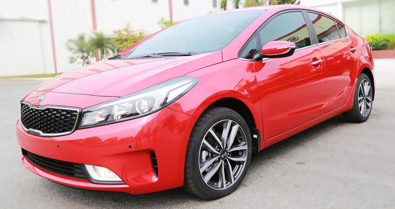 Kia Cerato thế hệ mới chuẩn bị ra mắt tại Việt Nam