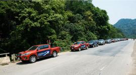 """Ngày 1: Toyota Hilux """"thử"""" bản lĩnh tại Pù Mát"""