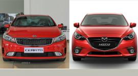 Chọn Mazda3 hay Kia Cerato thế hệ mới?