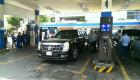 Limousine The Beast của Tổng thống Obama nạp nhiên liệu tại Sài Gòn