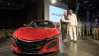 Siêu xe Acura NSX 2017 đầu tiên xuất xưởng