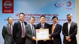 Nissan Việt Nam hợp tác chiến lược với hãng dầu nhớt TOTAL