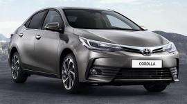Lộ diện Toyota Corolla 2017 dành cho thị trường Đông Nam Á
