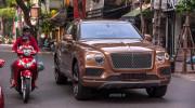 Chạm mặt siêu SUV Bentley Bentayga trên phố Hà Nội