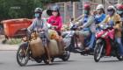 """Xe """"hết đát"""" tung hoành phố Sài Gòn"""