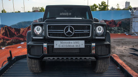 """Đã mắt với """"vua địa hình"""" Mercedes G63 AMG bản đặc biệt tại Hà Nội"""