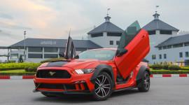 Ford Mustang độ Wide Bodykit cực chất của dân chơi Lào Cai