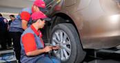 """Khởi động chuỗi sự kiện chăm sóc xe """"Bridgestone lăn bánh an toàn"""""""