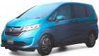 Lộ diện mẫu MPV hoàn toàn mới của Honda