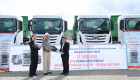 Nam Việt Motor bàn giao 40 ôtô đầu kéo Hyundai Xcient cho khách hàng