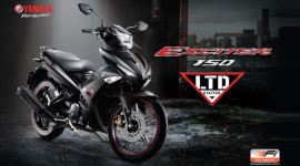 """Yamaha """"tăng nhiệt"""" cho Exciter 150 bằng màu sơn mới"""