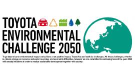 Toyota đặt mục tiêu giảm 90% khí thải CO2 vào năm 2050