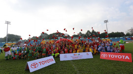 Trại hè bóng đá thiếu niên Toyota 2016 diễn ra tại TP. Hồ Chí Minh