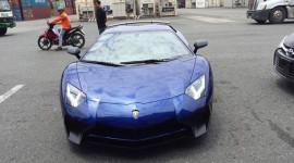 Siêu phẩm Lamborghini Aventador SV cập cảng Việt Nam