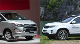 Với 1 tỷ đồng, chọn Toyota Innova 2.0V mới hay Kia Sorento?