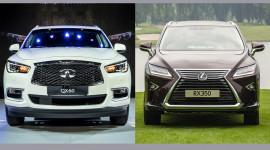 Infiniti QX60 2016 và Lexus RX350 2016: Nên mua xe nào?