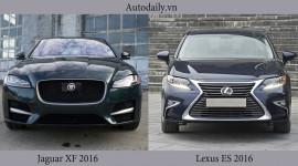 Chọn Jaguar XF 2016 hay Lexus ES 2016?