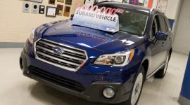 Subaru chào đón chiếc xe thứ 3 triệu lắp ráp tại Mỹ