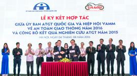 Ủy ban ATGT và VAMM chung tay vì giao thông Việt Nam an toàn