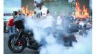 Video: Môtô tiền tỷ Harley-Davidson CVO đốt lốp cực đỉnh tại Đà Nẵng