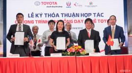"""Toyota Việt Nam triển khai chương trình """"Học bổng dạy nghề Toyota"""""""
