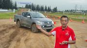 Mitsubishi Triton và Pajero Sport qua tay lái Hiroshi Masuoka