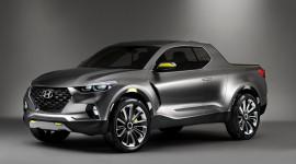 Hyundai gần chốt thiết kế của xe bán tải Santa Cruz