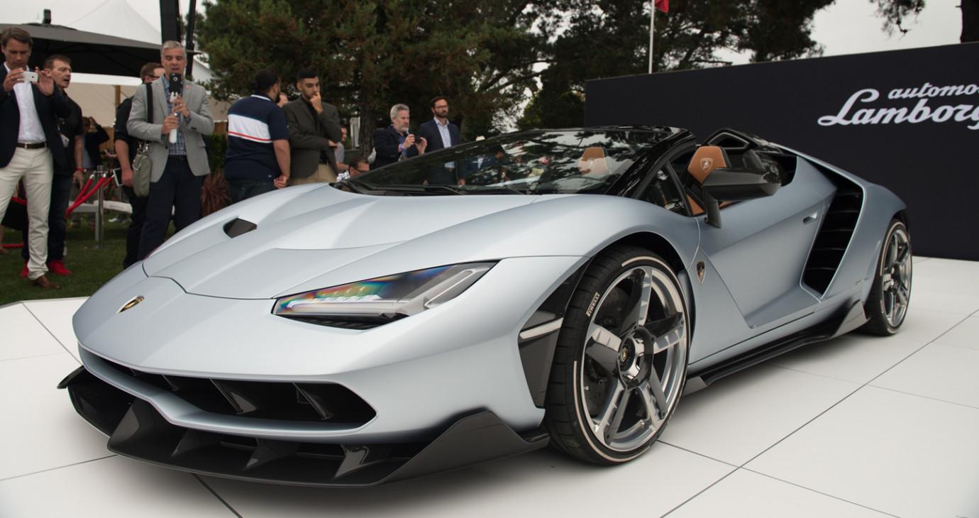 Siêu phẩm Lamborghini Centenario Roadster chính thức ra mắt
