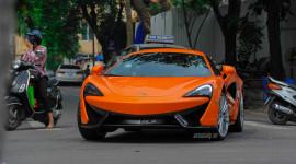 Cận cảnh McLaren 570S Coupe đầu tiên lăn bánh tại Hà Nội