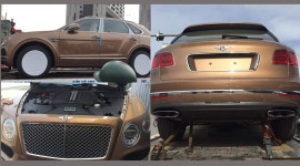SUV siêu sang Bentley Bentayga thứ 3 về Việt Nam