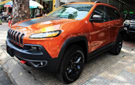 'Hàng độc' Jeep Cherokee Trailhawk đến Việt Nam