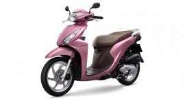 Honda Vision thêm sắc hồng cho phái nữ