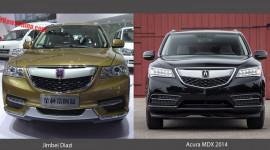 """SUV """"nhái"""" Acura MDX ra mắt tại Trung Quốc với giá rẻ """"giật mình"""""""