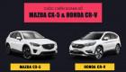 [Infographic] So sánh doanh số Mazda CX-5 và Honda CR-V