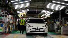 """""""Tận mục sở thị"""" nhà máy sản xuất """"xe xanh"""" của Toyota"""