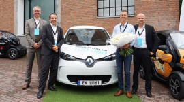 100.000 xe điện Renault đã đến tay khách hàng