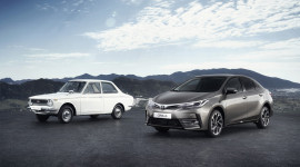 50 năm, 44 triệu xe Toyota Corolla đến tay khách hàng