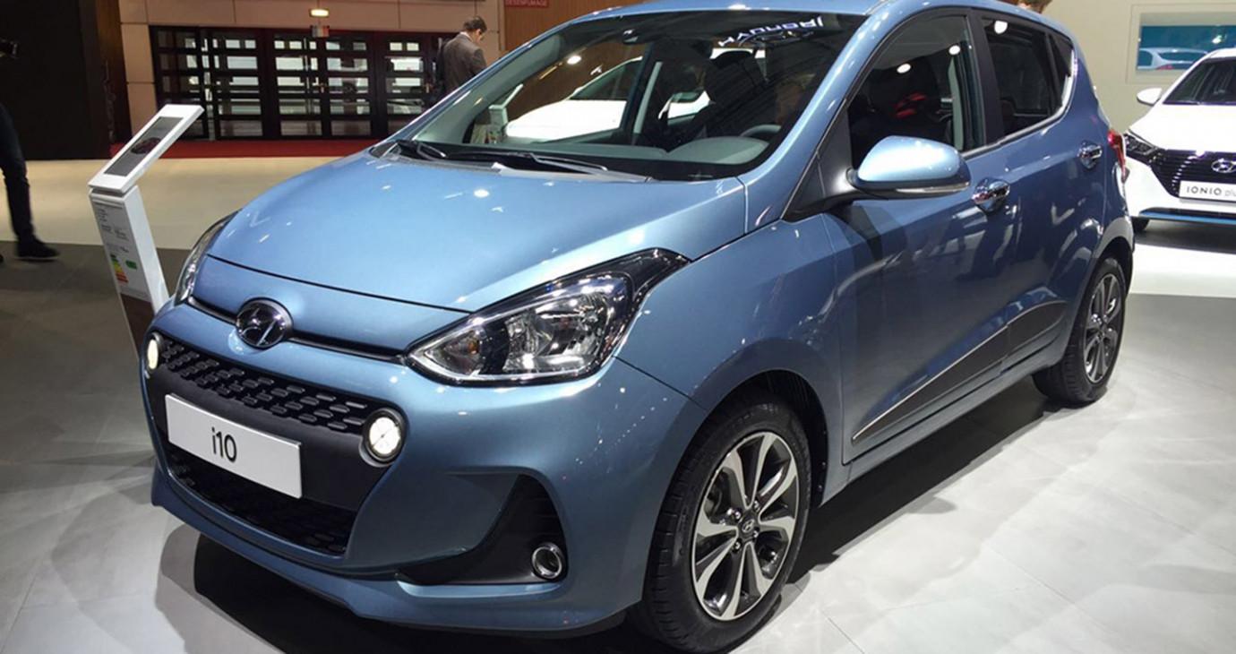 Ảnh chi tiết Hyundai i10 2017