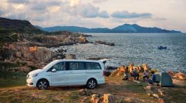 Trải nghiệm Mercedes-Benz V-Class dọc bờ biển đẹp nhất Việt Nam