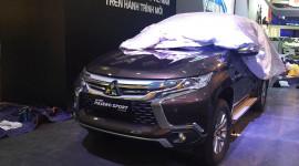 """Mitsubishi Pajero Sport lộ """"ảnh nóng"""" tại Hà Nội"""