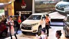 Toàn cảnh gian hàng Mitsubishi tại Triển lãm Ôtô Việt Nam 2016