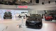 Toàn cảnh gian hàng Toyota tại Triển lãm Ôtô Việt Nam 2016