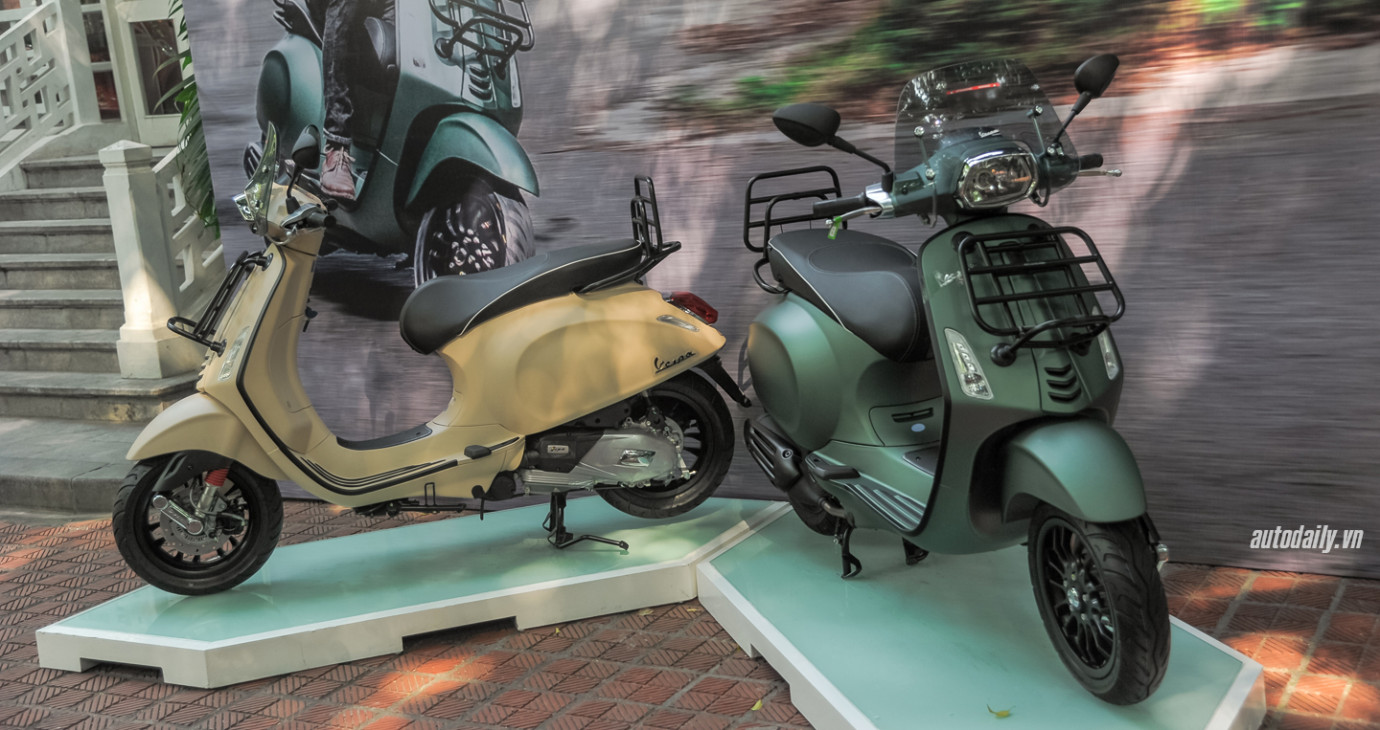 Piaggio Việt Nam giới thiệu Vespa Sprint Adventure, giá 80 triệu đồng